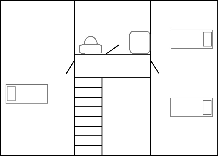 The Farmhouse - 1st Floor Layout