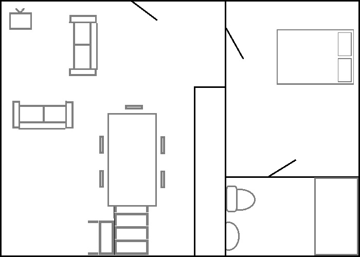 The Farmhouse - Ground Floor Layout